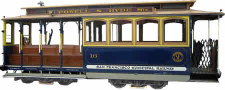 San Francisco Cable Car - The Only Mobile National Landmark